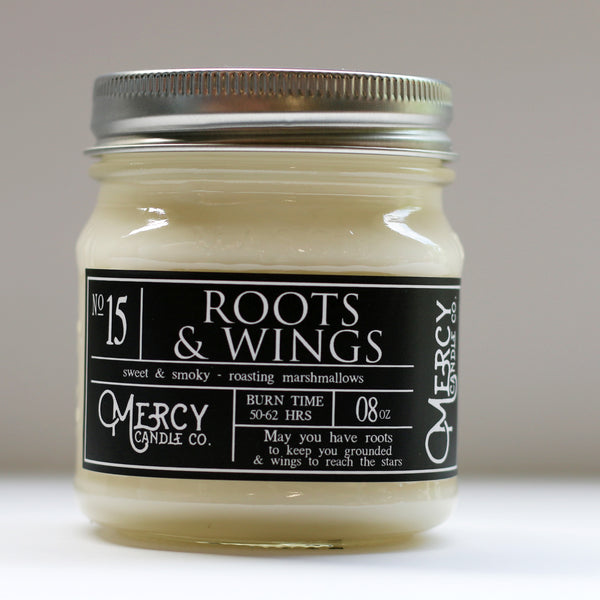ROOTS & WINGS - 08oz Mason Jar
