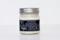 SUNDAY MORNING - 08oz Mason Jar