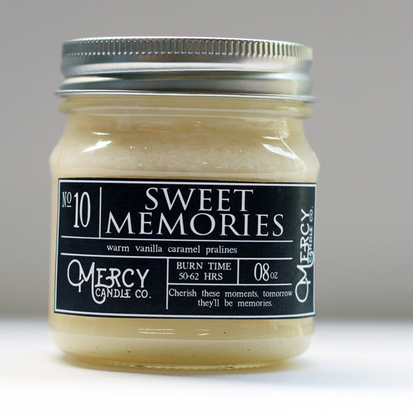 SWEET MEMORIES - 08oz Mason Jar