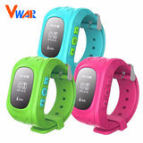 Vwar Q50 GPS Smart Kid Safe smart Watch SOS Call Location Finder Locator Tracker for Child Anti Lost Monitor Baby Son Wristwatch - PIBBO