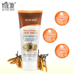 Black Mask Peel-off Black Facial Mask With Cordyceps Extract
