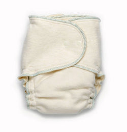 Babee Greens Growing Greens One-Size Fitted Cloth Diaper - Organic - Made in USA