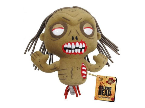 Zumbie Bicycle Girl Pelúcia - The Walking Dead - Funko Plush