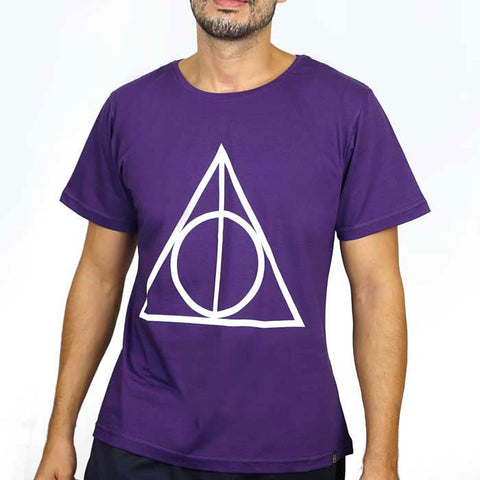 Camiseta Masculina Relíquias da Morte - Harry Potter