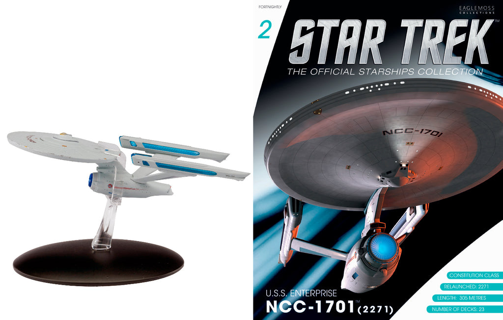 USS Enterprise 1701 Eaglemoss Collection
