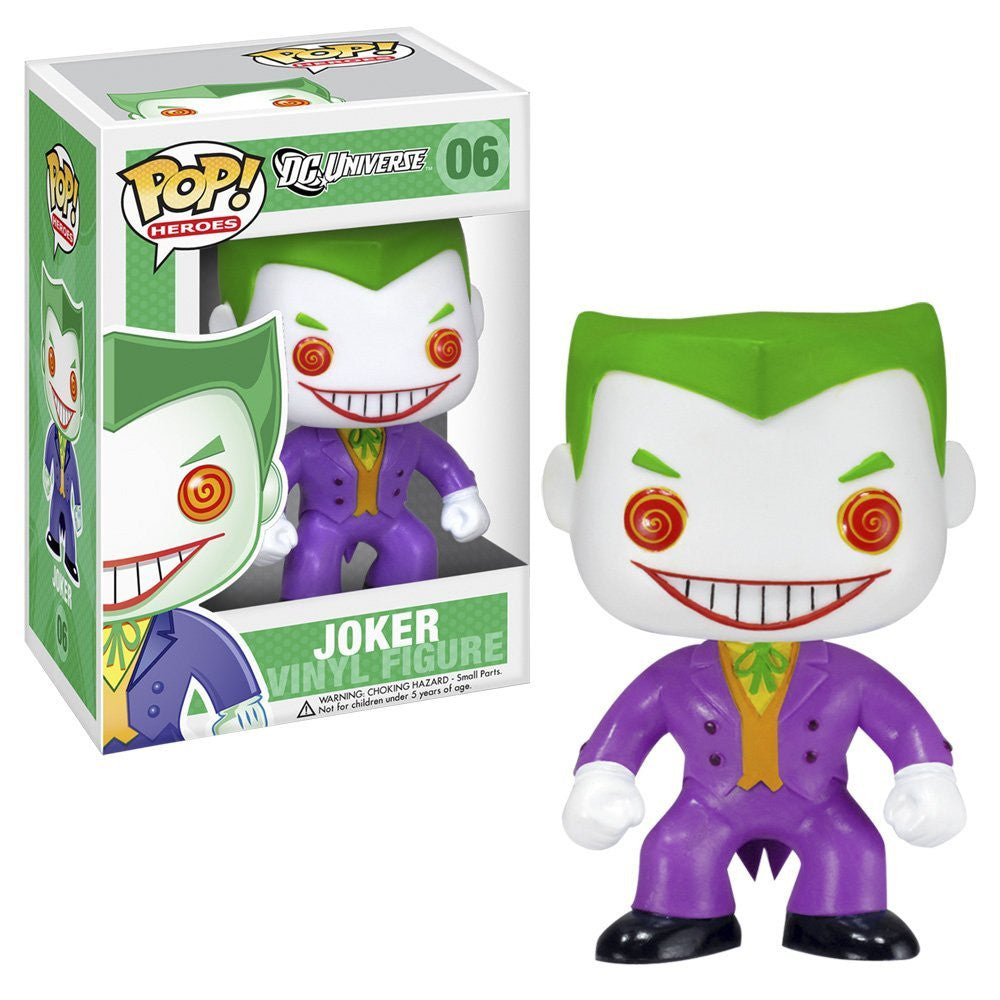 Boneco DC Universe The Joker Funko Pop! Vinyl - Loja Geek Blackat Store