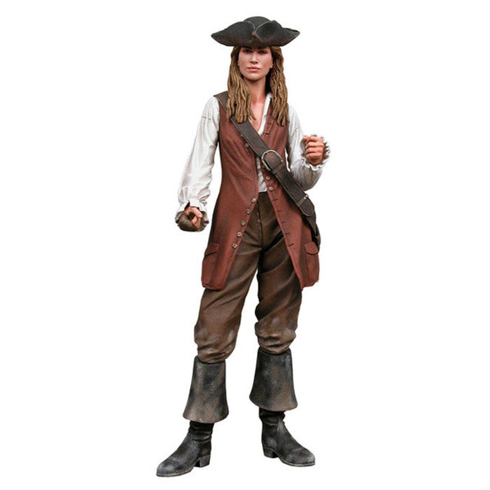 Action Figure Elizabeth Swan - Piratas do Caribe - Loja Geek Blackat Store