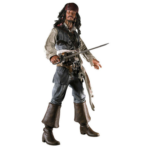 Action Figure Jack Sparrow - Piratas do Caribe - Loja Geek Blackat Store