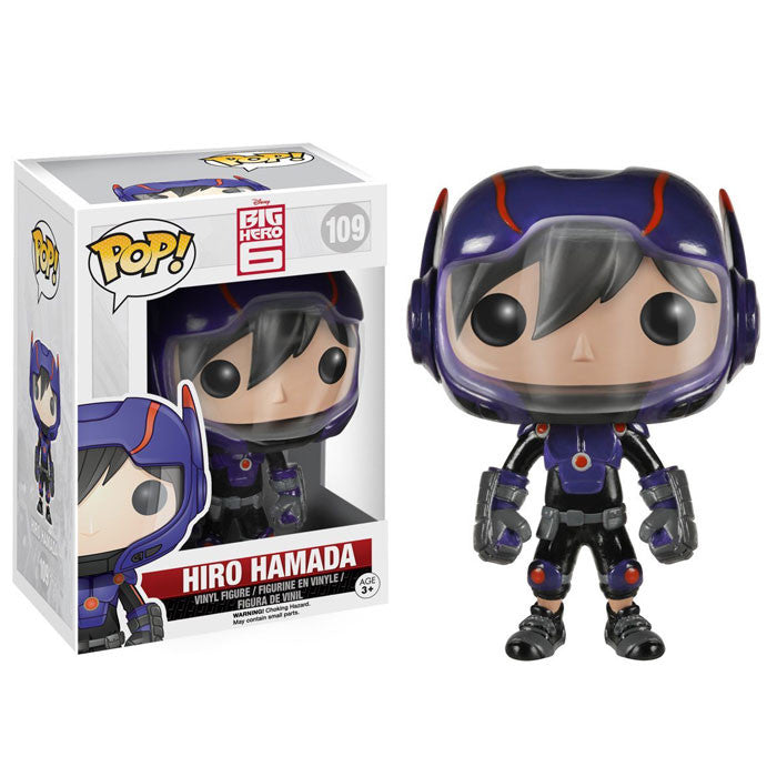 Boneco Hiro Hamada Big Hero Funko Pop - Disney - Loja Geek Blackat Store