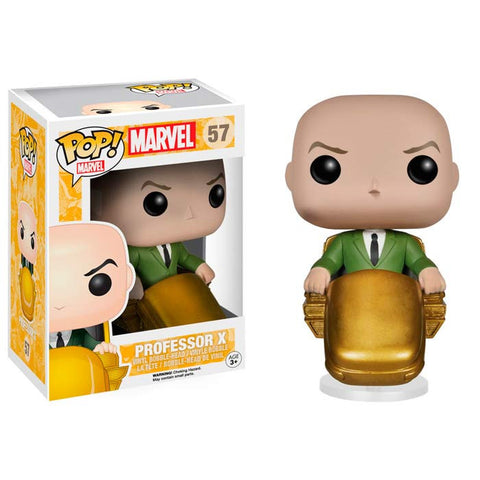 Boneco Professor X Funko Pop - X-Men - Loja Geek Blackat Store
