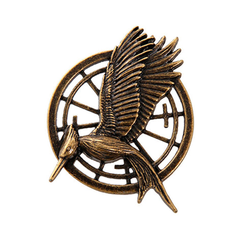 Broche Mockinbird Hunger Games Catching Fire - Loja Geek Blackat Store