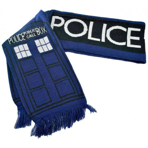 Cachecol Tardis Police Box - Doctor Who
