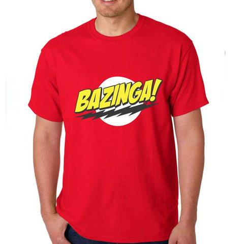 Camiseta Masculina Bazinga - The Big Bang Theory
