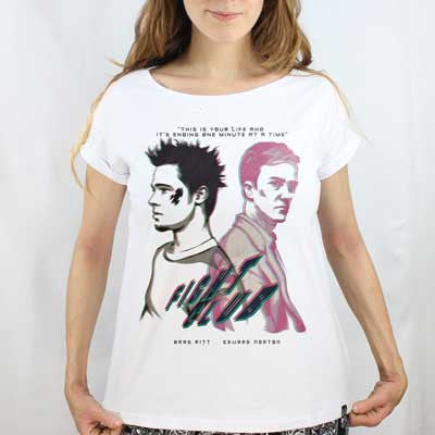 Camiseta Feminina Fight Club - Clube da Luta