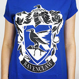 Camiseta Feminina Casa Corvinal - Harry Potter - Loja Geek Blackat Store