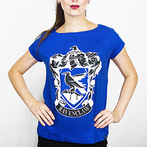 Camiseta Feminina Casa Corvinal - Harry Potter