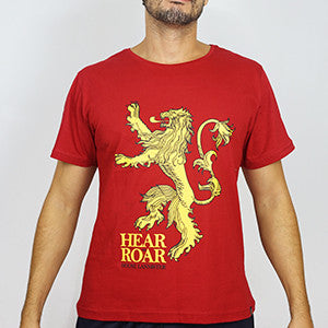 Camiseta Masculina House Lannister - Game of Thrones