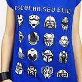 Camiseta Feminina Choose Your Helmet