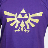 Camiseta Masculina Triforce (dourado) - Legend of Zelda