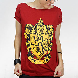 Camiseta Feminina Grifinória - Harry Potter