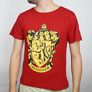 Camiseta Masculina Grifinória - Harry Potter