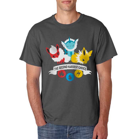 Camiseta Masculina Hard Choice - Pokémon