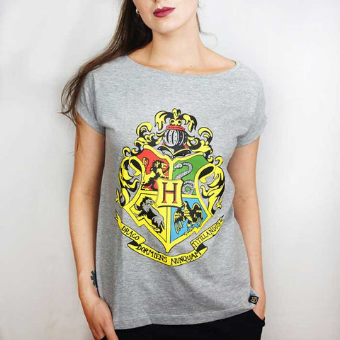 Camiseta Feminina Hogwarts - Harry Potter
