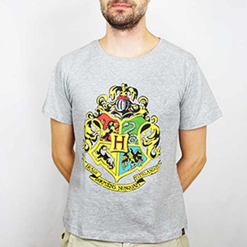 Camiseta Masculina Hogwarts - Harry Potter