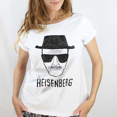 Camiseta Feminina Heisenberg - Breaking Bad