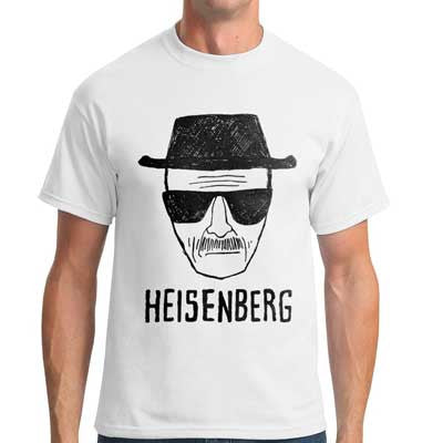 Camiseta Masculina Heisenberg - Breaking Bad
