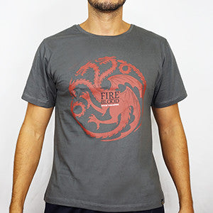 Camiseta Masculina House Targaryen - Game of Thrones