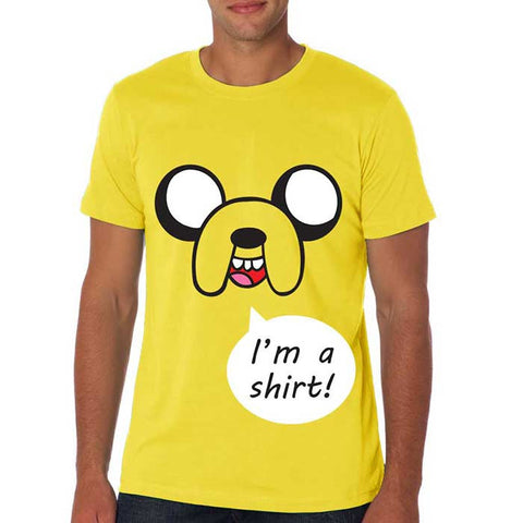 Camiseta Masculina Jake T-shirt - Adventure Time