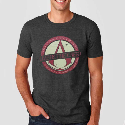 Camiseta Masculina Assassins Creed - Loja Geek Blackat Store