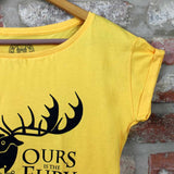 Camiseta Feminina House Baratheon - Game of Thrones