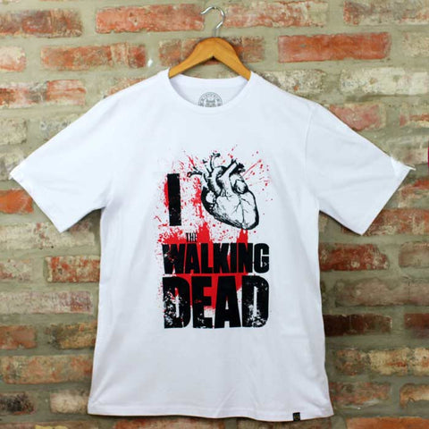 Camiseta Masculina I Love WD - The Walking Dead