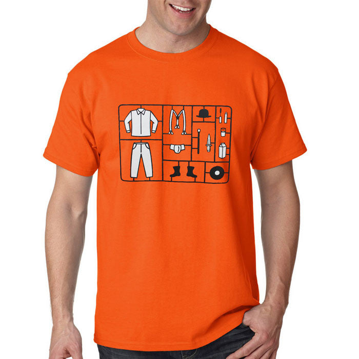 Camiseta Masculina Clockwork Orange Toy - Laranja Mecânica