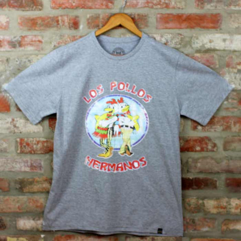 Camiseta Masculina Los Pollos Hermanos - Breaking Bad