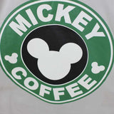 Camiseta Feminina Mickey Coffee - Loja Geek Blackat Store
