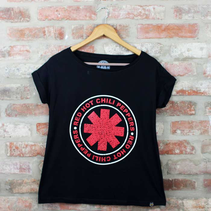 Camiseta Feminina RHCP - Red Hot Chilli Peppers