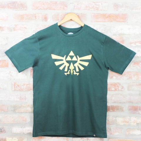 Camiseta Masculina The Legend of Zelda - Dourado - Loja Geek Blackat Store