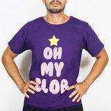 Camiseta Masculina Oh my Glob - Adventure Time