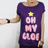 Camiseta Feminina Oh my Glob - Adventure Time