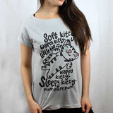 Camiseta Feminina Soft Kitty - The Big Bang Theory