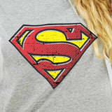 Camiseta Feminina Superman Pel­ícula - Superman