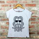 Camiseta Feminina The Dude - The Big Lebowsky - Loja Geek Blackat Store