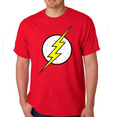 Camiseta Masculina The Flash - Loja Geek Blackat Store