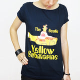 Camiseta Feminina Yellow Submarine - The Beatles - Loja Geek Blackat Store
