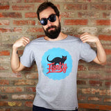 Camiseta Masculina Funky Black Cat - Loja Geek Blackat Store