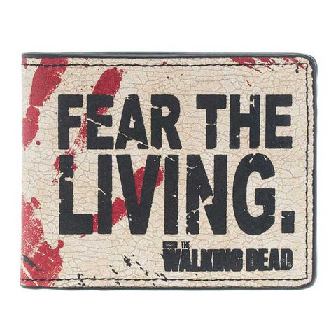 Carteira Fear The Living - The Walking Dead
