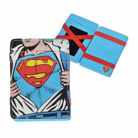 Carteira Magica Superman - Dc Comics